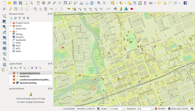 London's Open Map Data | Noah J  Stewart