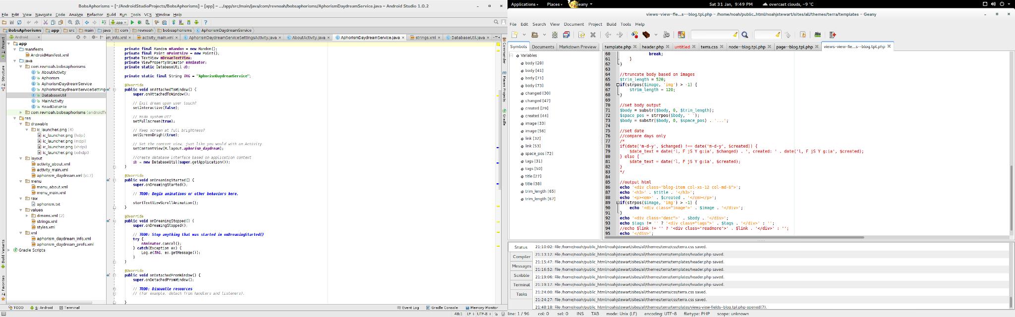 Coding in Ubuntu