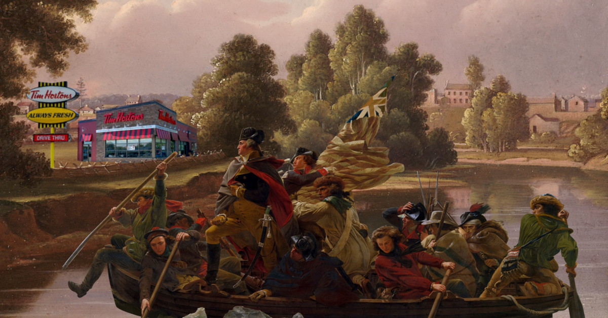 Washington Crossing For A DoubleDouble